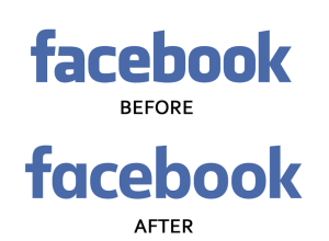 facebook logo change